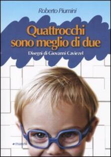 Quattrocchi son meglio di due - Roberto Piumini - copertina