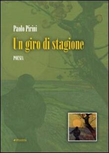 Un giro di stagione - Paolo Pirini - copertina