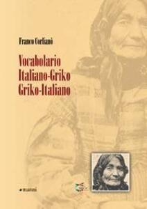 Vocabolario italiano-griko, griko-italiano