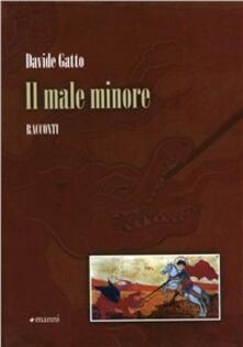 Il male minore - Davide Gatto - copertina