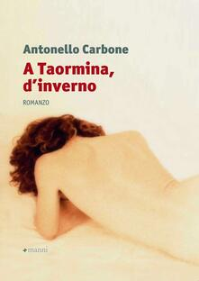 A Taormina, d'inverno - Antonello Carbone - copertina