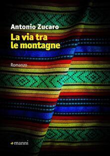 La via tra le montagne - Antonio Zucaro - copertina