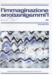 Letterarioprimopiano.it L' immaginazione. Vol. 292 Image