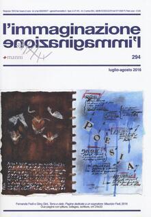 L' immaginazione. Vol. 294 - copertina