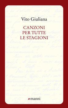 Canzoni per tutte le stagioni - Vito Giuliana - copertina