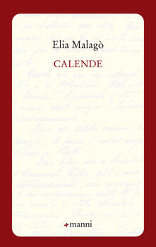 Calende - Elia Malagò - copertina