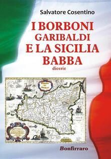 I Borboni, Garibaldi e la Sicilia babba - Salvatore Cosentino - copertina
