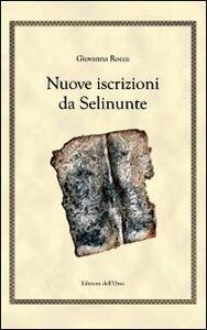 Nuove iscrizioni da Salinunte. Ediz. multilingue