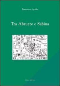 Tra Abruzzo e Sabina