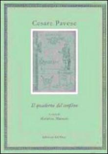 Steamcon.it Cesare Pavese. Il quaderno del confino Image