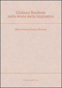 Giuliano Bonfante nella storia della linguistica