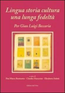 Equilibrifestival.it Lingua storia cultura una lunga fedeltà. Per Gian Luigi Beccaria Image