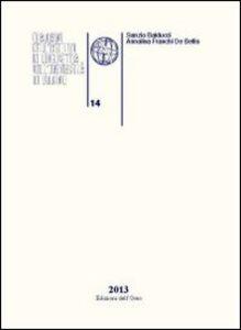 Quaderni dell'Istituto di linguistica dell'Università degli studi di Urbino. Vol. 14