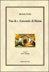 Vita di s. Aussenzio di Bitinia. Testo greco a fronte