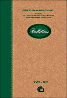 Voluntariadobaleares2014.es Bollettino dell'opera del vocabolario italiano. Vol. 18 Image