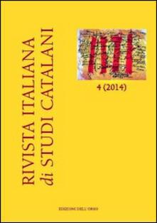 Associazionelabirinto.it Rivista italiana di studi catalani (2014). Ediz. italiana e spagnola. Con CD-ROM. Vol. 4 Image