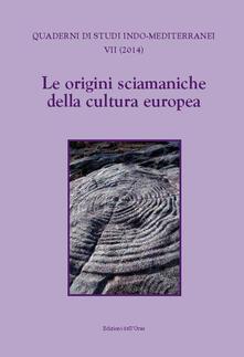 Le origini sciamaniche della cultura europea - copertina