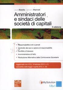 Amministratori e sindaci delle società di capitali