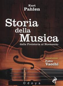 Storia della musica dalla Preistoria al Novecento