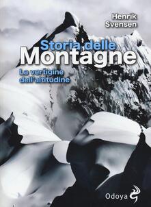Listadelpopolo.it Storia delle montagne. La vertigine dell'altitudine Image