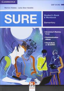 Fondazionesergioperlamusica.it Sure. Elementary. Multimedia Pack. Student's book-Workbook. Per le Scuole superiori. Con e-book. Con espansione online Image