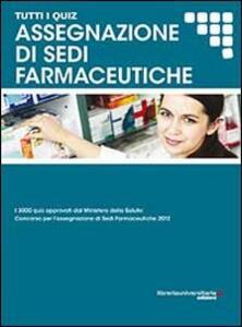 Assegnazione di sedi farmaceutiche
