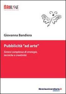 Pubblicità «ad arte»