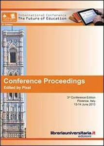 Conference proceedings. The future of education