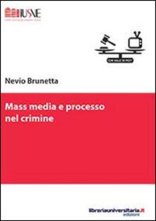 Radiospeed.it Mass media e processo nel crimine Image