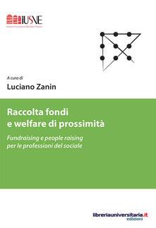 Ristorantezintonio.it Raccolta fondi e welfare di prossimità. Fundraising e people raising per le professioni del sociale Image
