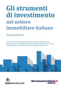 Gli strumenti di investimento nel settore immobiliare italiano