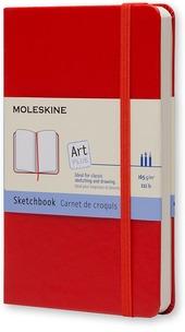 Taccuino Moleskine pocket per schizzi copertina rigida