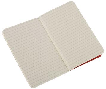 Cartoleria Quaderno Cahier Moleskine pocket a righe. Set da 3 Moleskine 3