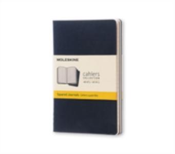 Cartoleria Quaderno Cahier Moleskine pocket a quadretti. Set da 3 Moleskine 0