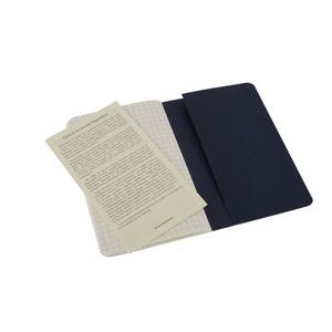 Cartoleria Quaderno Cahier Moleskine pocket a quadretti. Set da 3 Moleskine 2