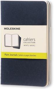 Cartoleria Quaderno Cahier Moleskine pocket a pagine bianche. Set da 3 Moleskine 0