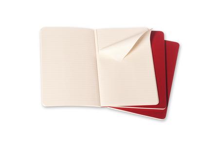 Cartoleria Quaderno Cahier Moleskine large a righe. Set da 3 Moleskine 1