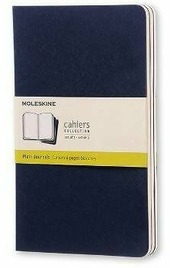 Quaderni Moleskine Cahier large a pagine bianche. Set 3 pezzi