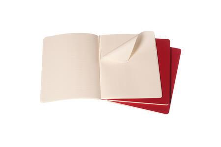 Quaderno Cahier Moleskine extra large a righe. Set da 3 - 2