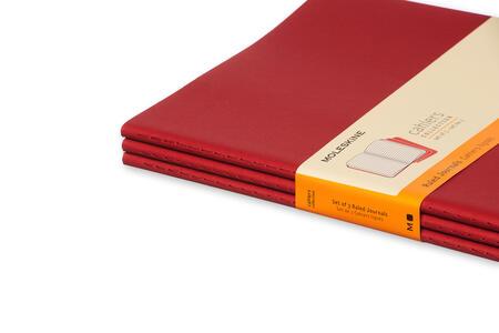 Quaderno Cahier Moleskine extra large a righe. Set da 3 - 5