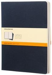 Quaderni Moleskine Cahier extra large a righe. Set 3 pezzi