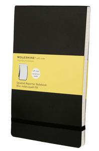Cartoleria Blocco soft Moleskine large a quadretti Moleskine 4