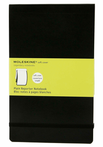 Cartoleria Blocco soft Moleskine large a pagine bianche Moleskine 5