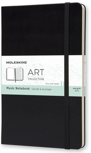 Cartoleria Taccuino Music Notebook Moleskine large Moleskine 0
