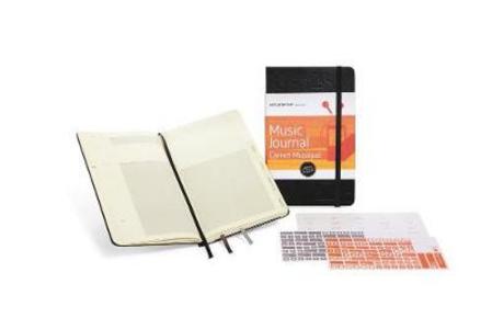 Cartoleria Taccuino Passion Journal Music Moleskine Moleskine 0