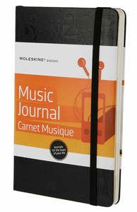 Cartoleria Taccuino Passion Journal Music Moleskine Moleskine 4