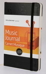 Cartoleria Taccuino Passion Journal Music Moleskine Moleskine 5