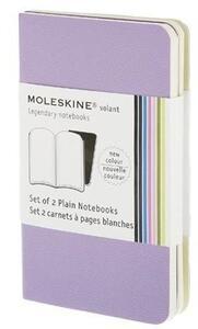 Cartoleria Set di due taccuini Volant a pagine bianche Moleskine Moleskine