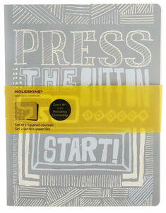 Quaderno Moleskine Cover Art by the Moleskine Community. Journal. Start Squared - 7