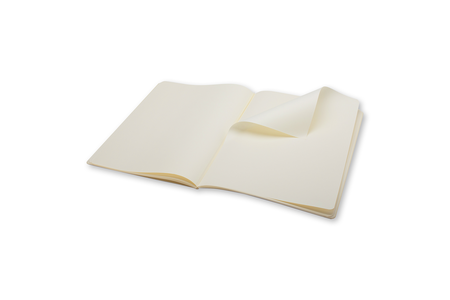 Cartoleria Set di due taccuini Volant a pagine bianche extra large Moleskine Moleskine 1